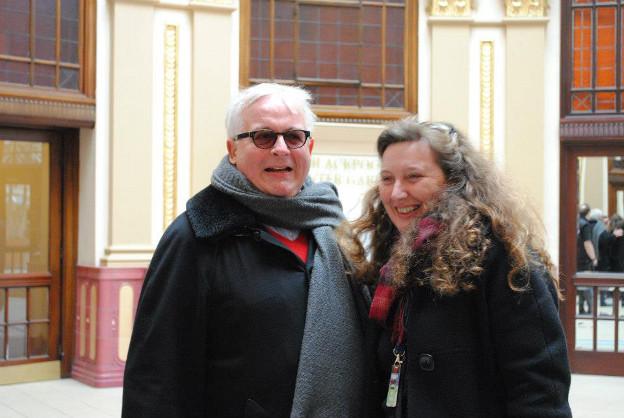 Christopher Biggins & Vanessa Toulmin
