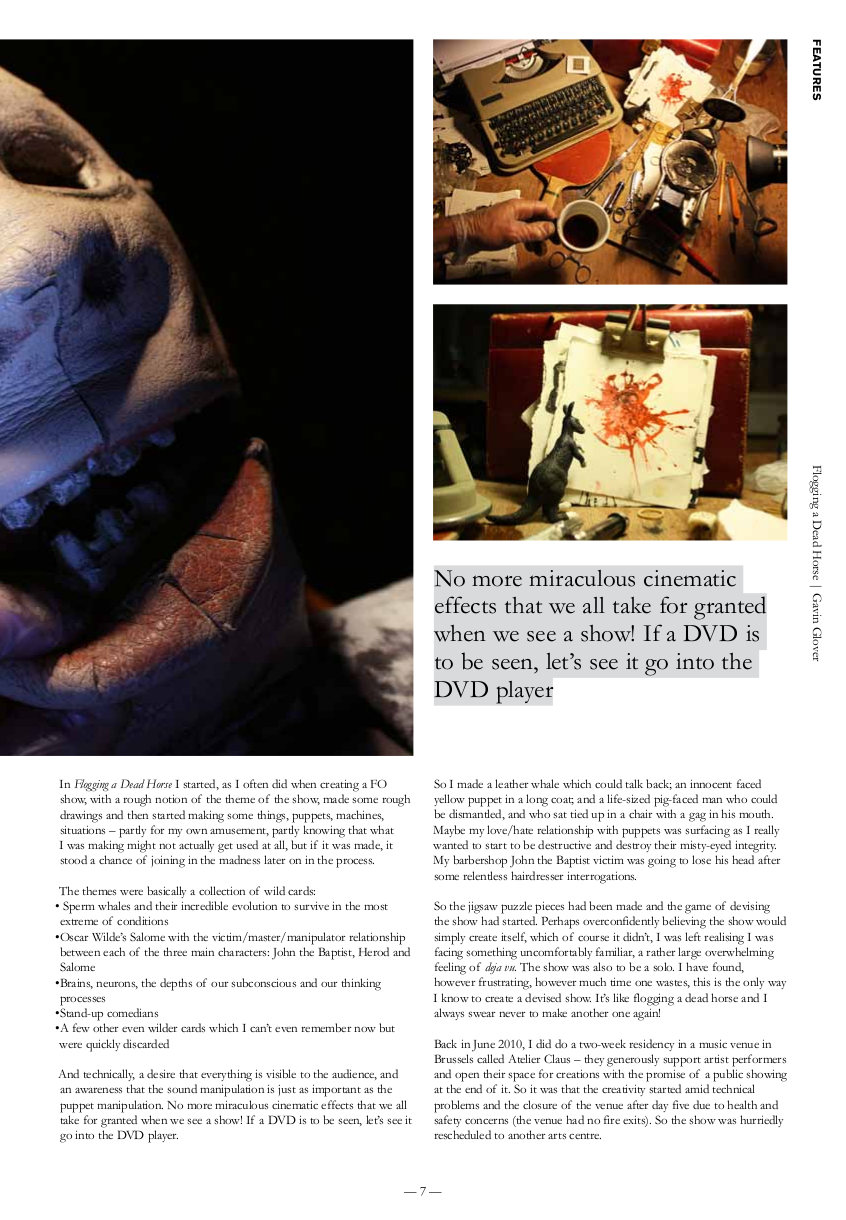 Issue 22/4 | Total Theatre Magazine Print Archive