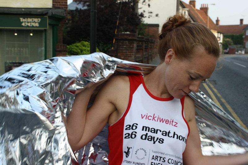 vickiweitz, 26 Marathons in 26 Days
