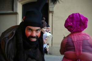 Bouffon Javi grin street