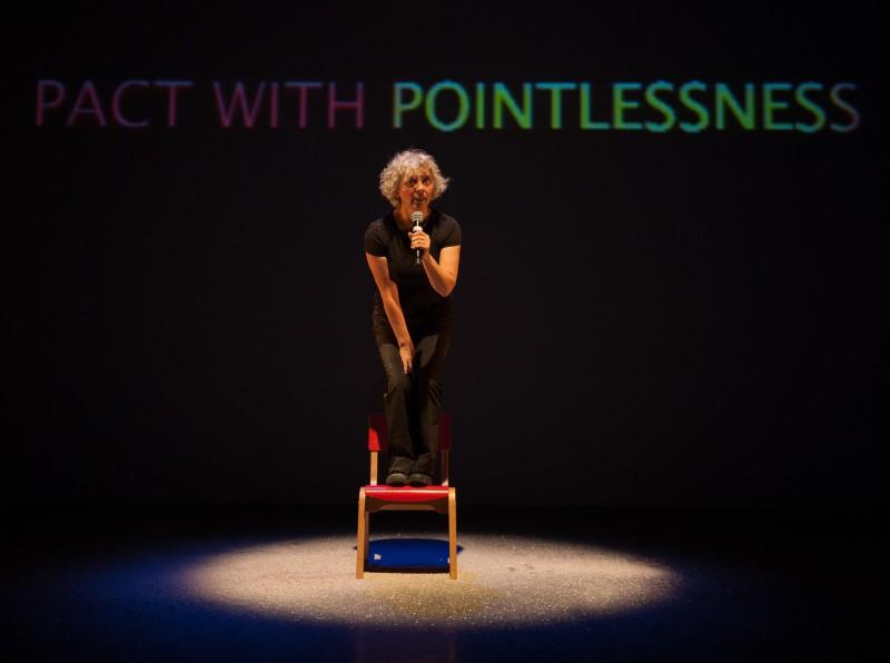 Wendy Houstoun - Pact With Pointlessness - Photo Hugo Glendinning