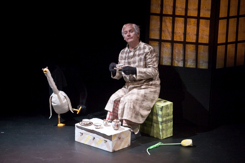 Peter Wilson, Nina Nawalowalo and Capital E National Arts Festival present DUCK, DEATH AND THE TULIP, 18 - 23 March 2013.