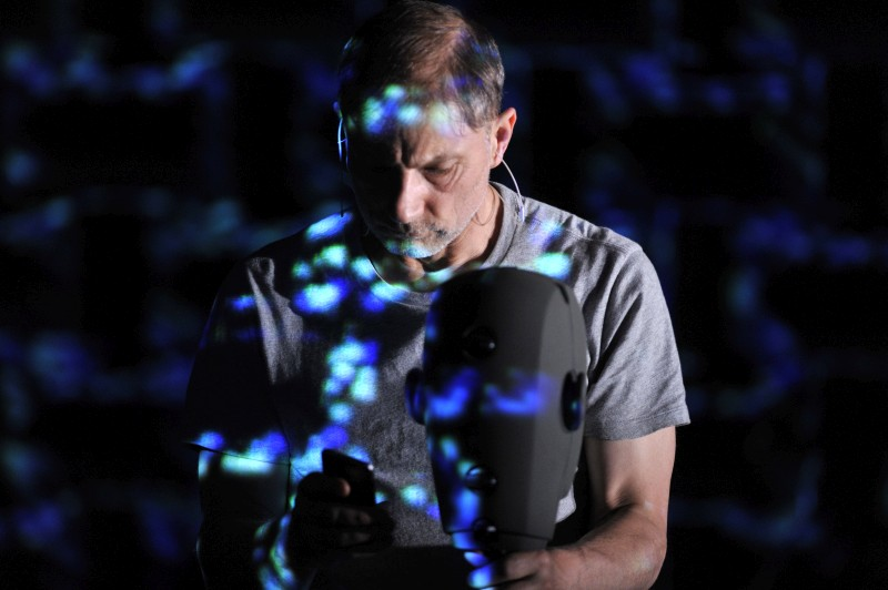 Complicite - The Encounter - Photo by Robbie Jack