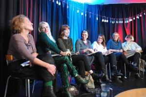 Old Dears panel discussion. Photo Peter Chrisp