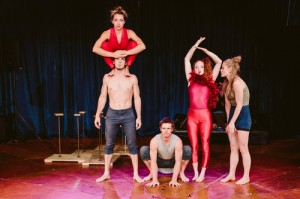 Fauna, winners of the Total Theatre  & Jacksons Lane Award for Circus 2017