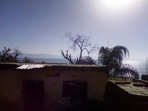 Agua Caliente:  a poor pueblo, a polluted lake