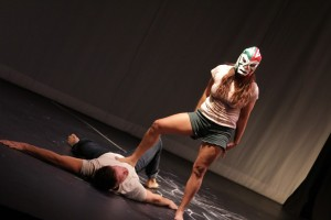 Blanca-Seb: Borderless. Presented at Ficho Festival 2017, with excerpts on the road for Caravanas Ficho