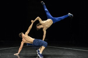 Barely Methodical Troupe: SHIFT. Photo Gregory Batardon