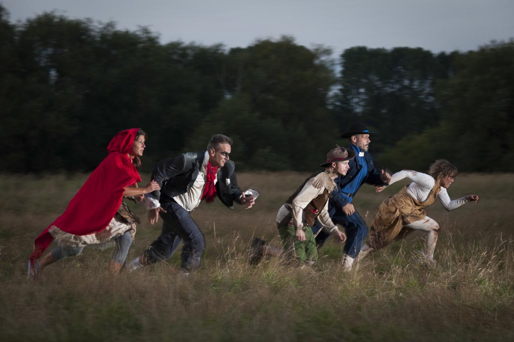 Burn the Curtain The Company of Wolves: Photo by Theo Moye